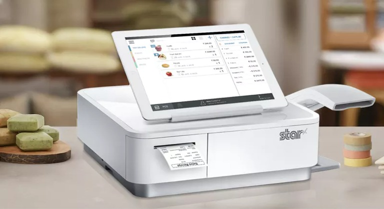 Cash register Hotel Booking