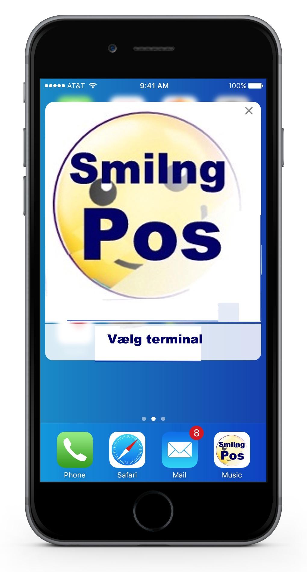 Smiling pos Kasseapparater detailsystemer Stregkoder barcode system